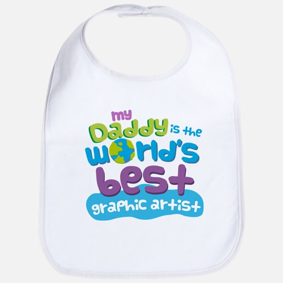 Graphic Artist Gifts for Kids Bib