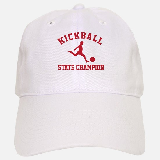 Kickball State Champion Cap