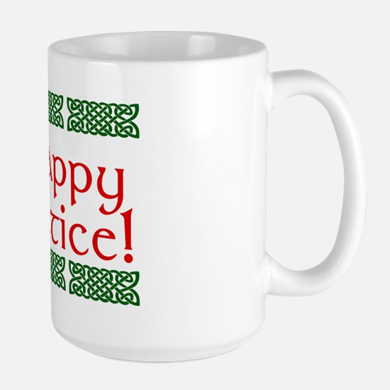 Happy Solstice Large Mug