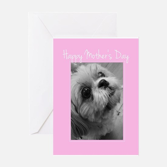 Mother's Day Shih Tzu Greeting Cards