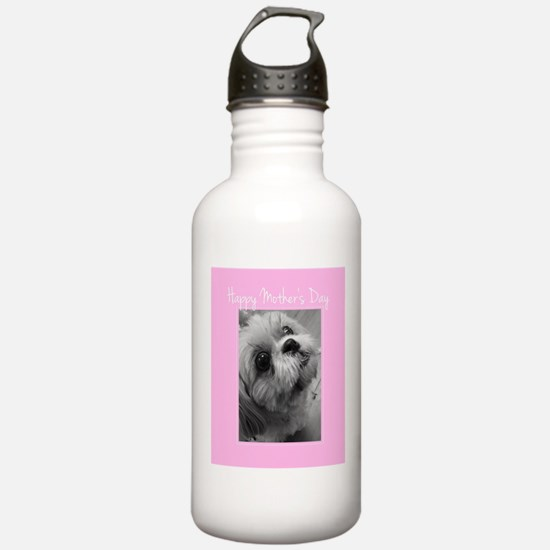 Mother's Day Shih Tzu Water Bottle