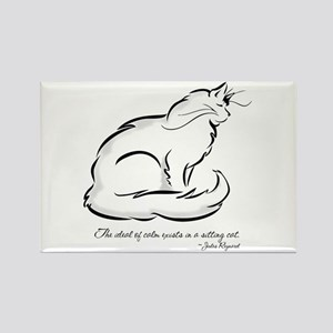 Ideal of Peace Cat Rectangle Magnet