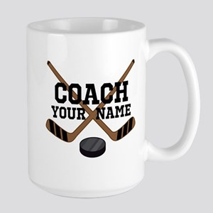 Hockey Coach Personalized Mugs