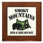 Smoky Mountains Framed Tile