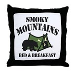 Smoky Mountains Throw Pillow