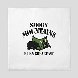 Smoky Mountains Queen Duvet