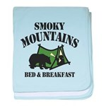 Smoky Mountains baby blanket