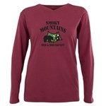 Smoky Mountains Plus Size Long Sleeve Tee