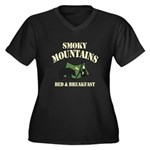 Smoky Mountains Plus Size T-Shirt