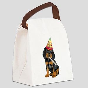 Gordon Setter Party Canvas Lunch Bag