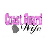 Coast Guard Wife  Mini Poster Print
