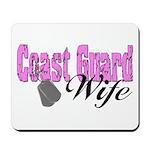 Coast Guard Wife Mousepad