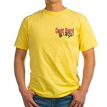 Coast Guard Wife Yellow T-Shirt