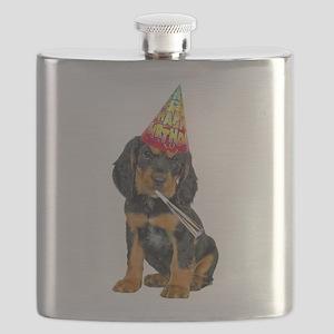 Gordon Setter Party Flask