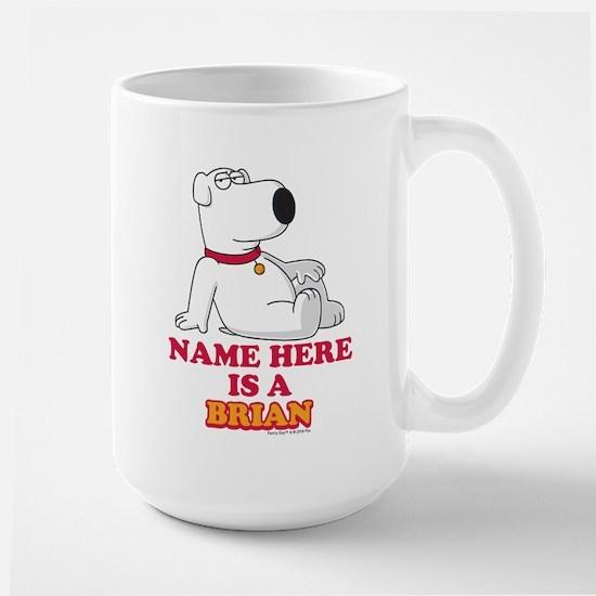 Family Guy Brian Personalized Large Mug