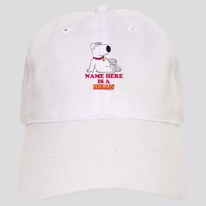 Family Guy Brian Personalized Cap
