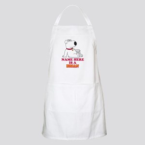 Family Guy Brian Personalized Apron