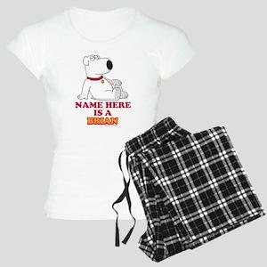 Family Guy Brian Personaliz Women's Light Pajamas