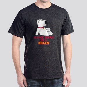 Family Guy Brian Personalized Dark T-Shirt