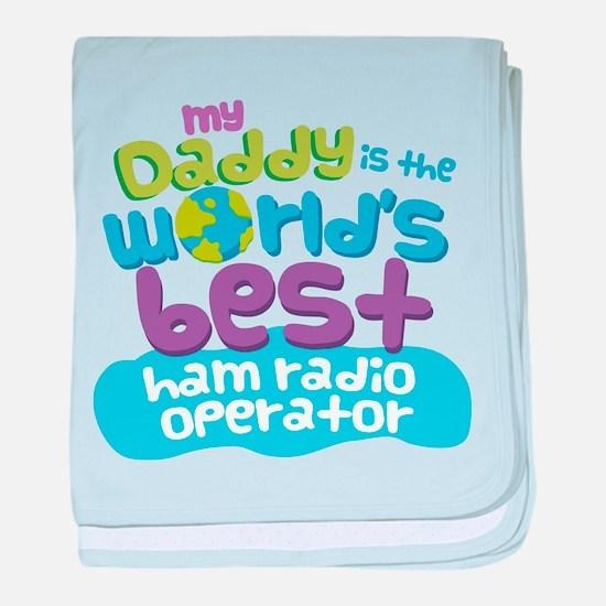 Ham Radio Operator Gifts for Kids baby blanket