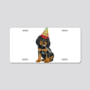 Gordon Setter Party Aluminum License Plate