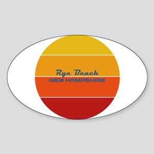 New Hampshire - Rye Beach Sticker