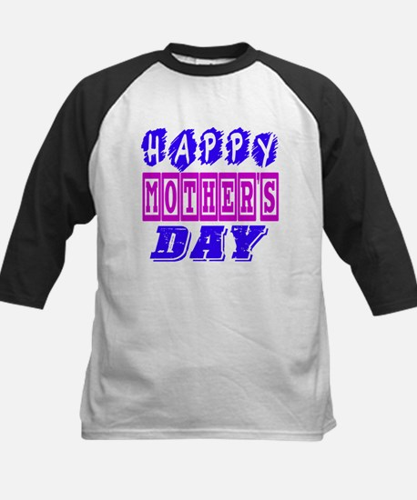 Happy Mother's Day Designs Kids Baseball Jersey