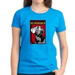 Obey the Weimaraner! Women's Dark T-Shirt