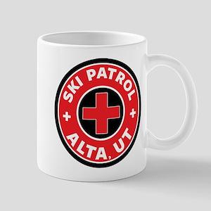 Alta Utah Ski Patrol Skiing Mugs