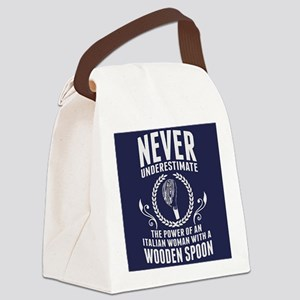 The Wooden Spoon Canvas Lunch Bag