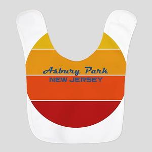 New Jersey - Asbury Park Polyester Baby Bib