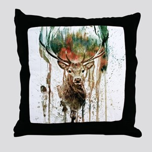 DEER IV Throw Pillow