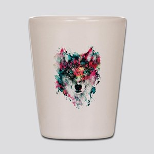 Wolf Shot Glass