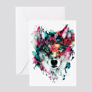 Wolf Greeting Cards