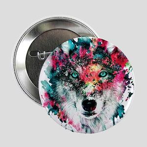 """Wolf 2.25"""" Button"""