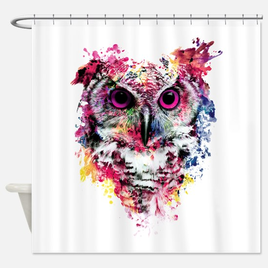Owl Shower Curtain