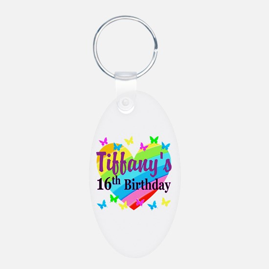 PERSONALIZED 16TH Keychains