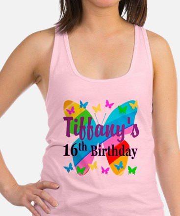 PERSONALIZED 16TH Racerback Tank Top