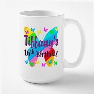 PERSONALIZED 16TH Large Mug