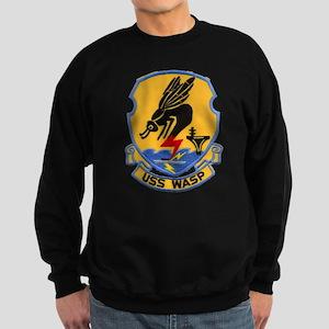 uss wasp cvs patch transparent Sweatshirt