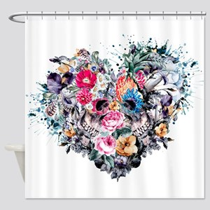 Love Forever Shower Curtain