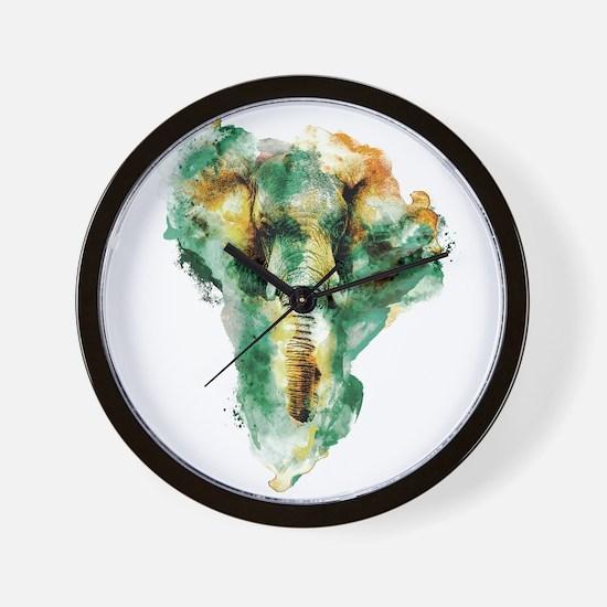 WILD AFRICA Wall Clock
