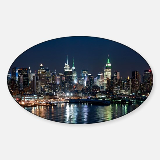 New York skyline Decal