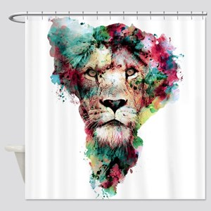 The King II Shower Curtain