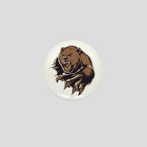 Wild Bear Mini Button