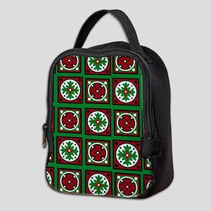 The Xmas Quilt Neoprene Lunch Bag