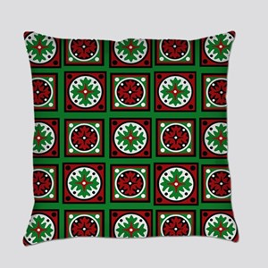 The Xmas Quilt Everyday Pillow