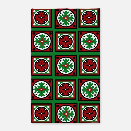 The Xmas Quilt Area Rug