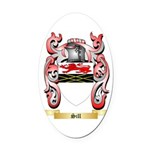 Sill Oval Car Magnet