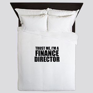 Trust Me, I'm A Finance Director Queen Duvet